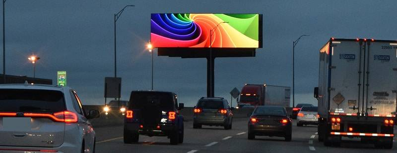Digital Billboard Color - Image Media Outdoor