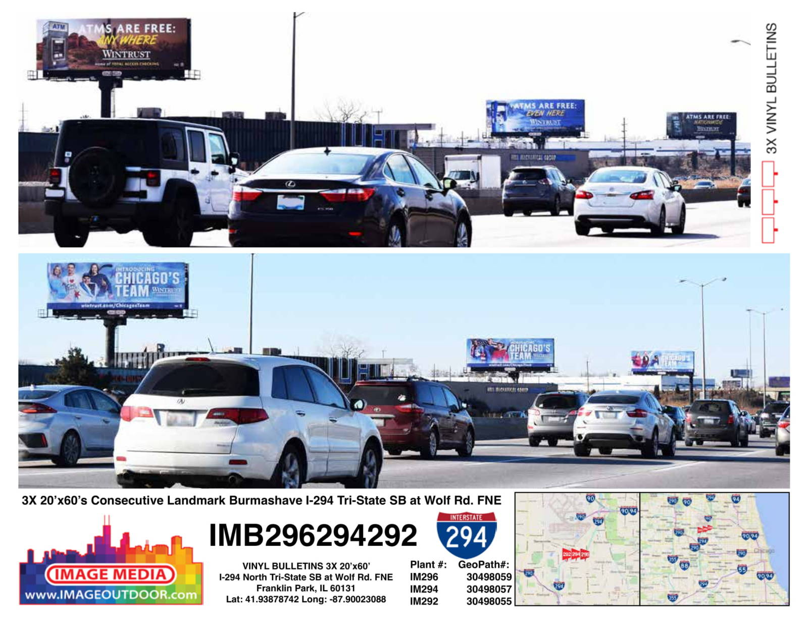 IMB296294292 - consecutive landmark burmashave on I-294 southbound
