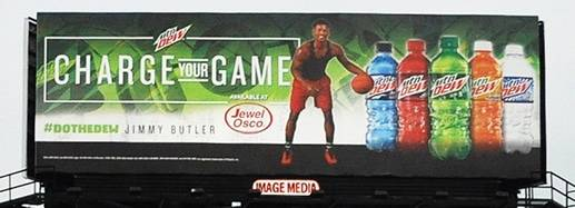 im142 Mountain Dew Billboard - Image Media Outdoor
